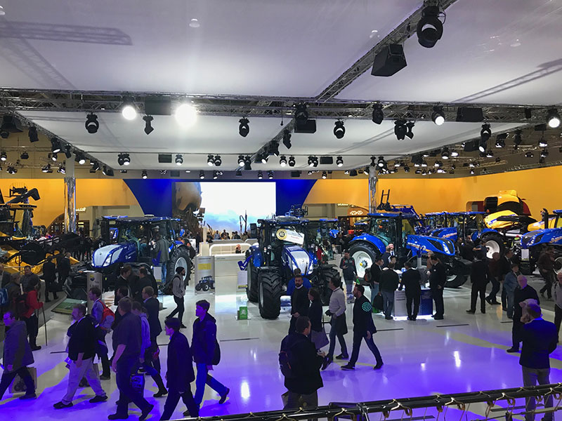 Stand New Holland Agritechnica 2017